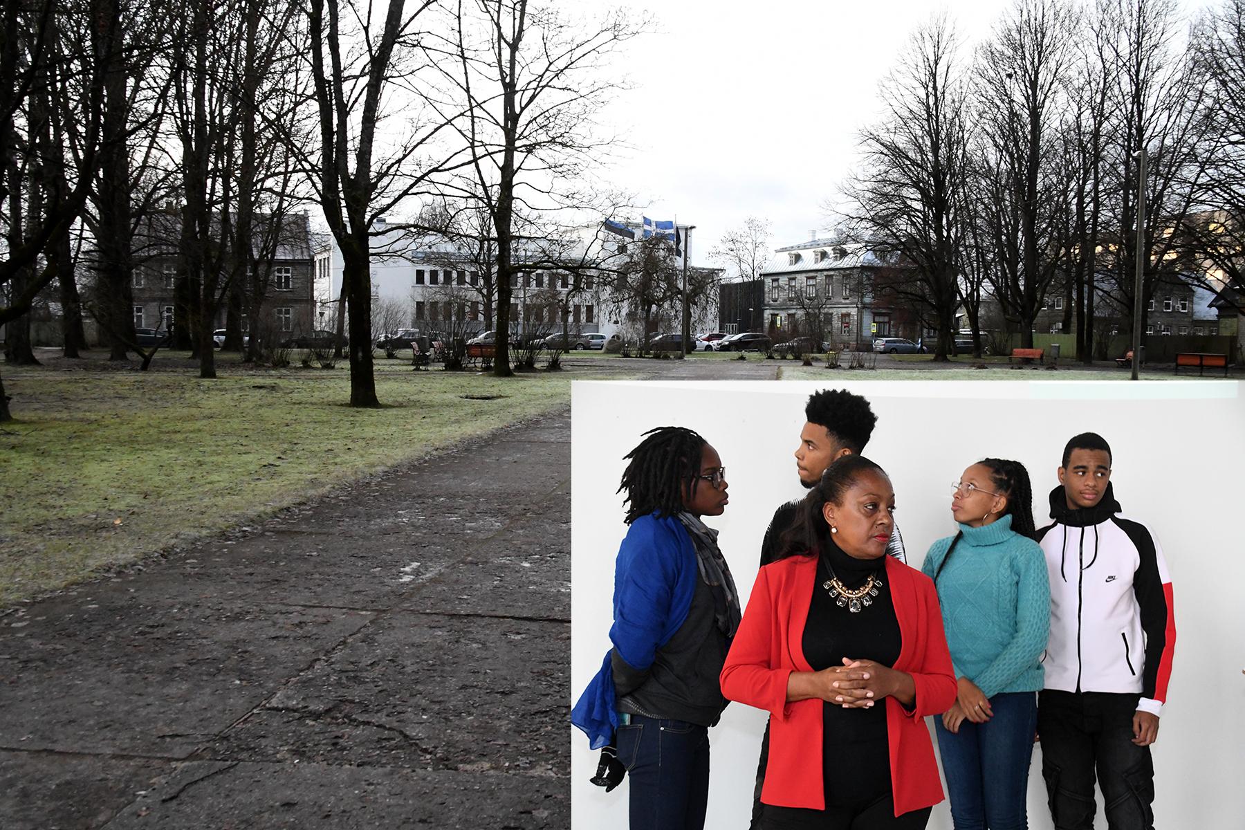 Siinmaa pargi uuendamist aitavad kavandada Euroopa noored. Foto Urmas Saard