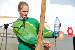 Silver Sepp, peaesineja Mesimummide juures Foto Urmas Saard