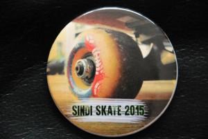 Sindi Skate 2015 Märgi kavandaja Elvo Grimm ja valmistaja Sindi ANK Foto Urmas Saard