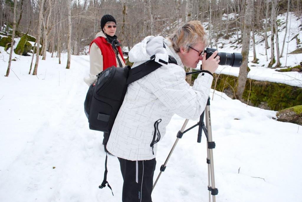 Sindi fotograafid Lahemaal, Valgejõe ääres Foto Urmas Saard