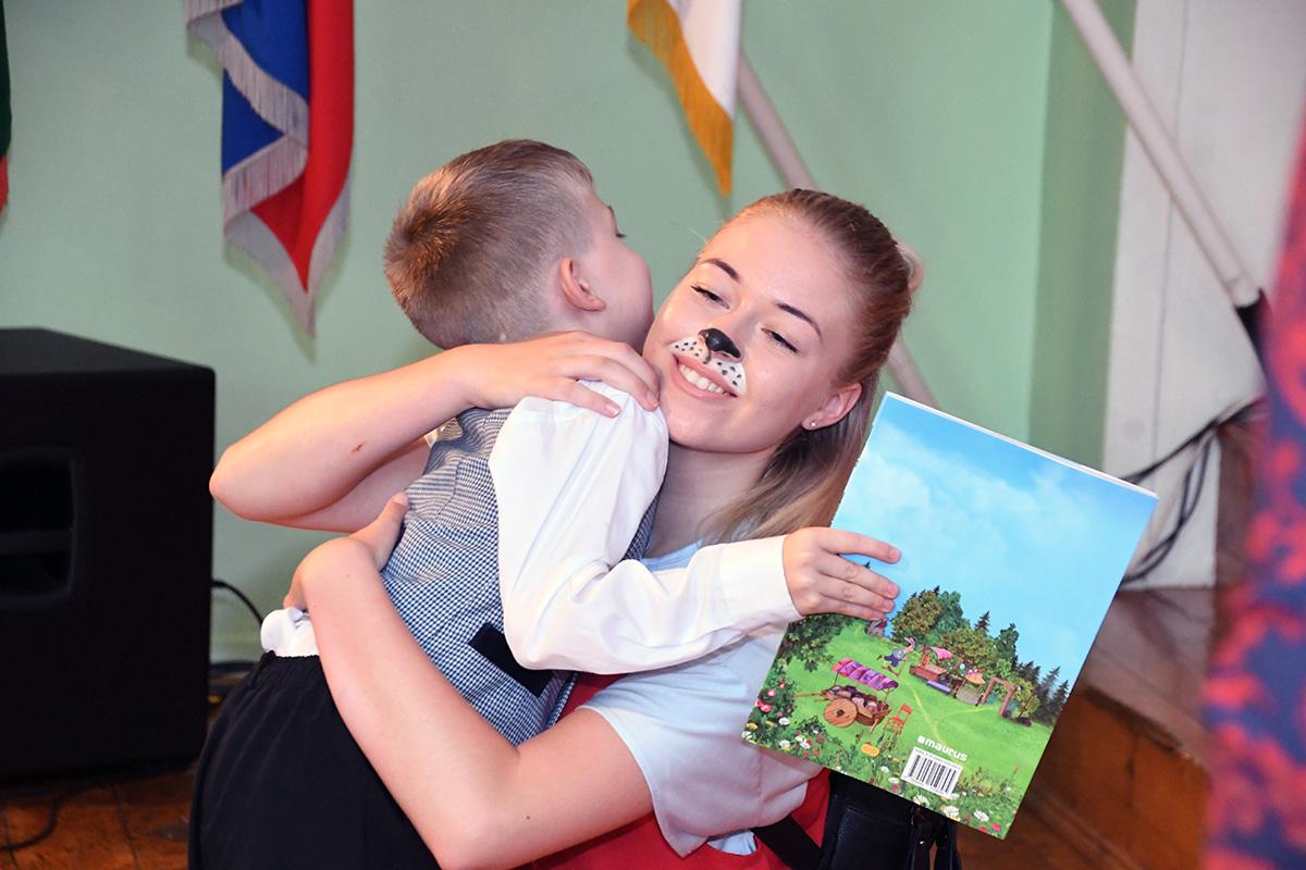 Sindi gümnaasium esimesel koolipäeval Lotte maailmas Foto Urmas Saard