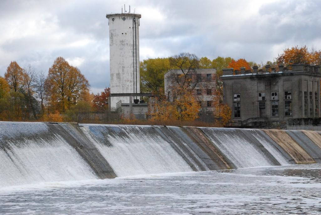 Sindi pais Pärnu jõe paremkaldalt vaadatuna Foto Urmas Saard