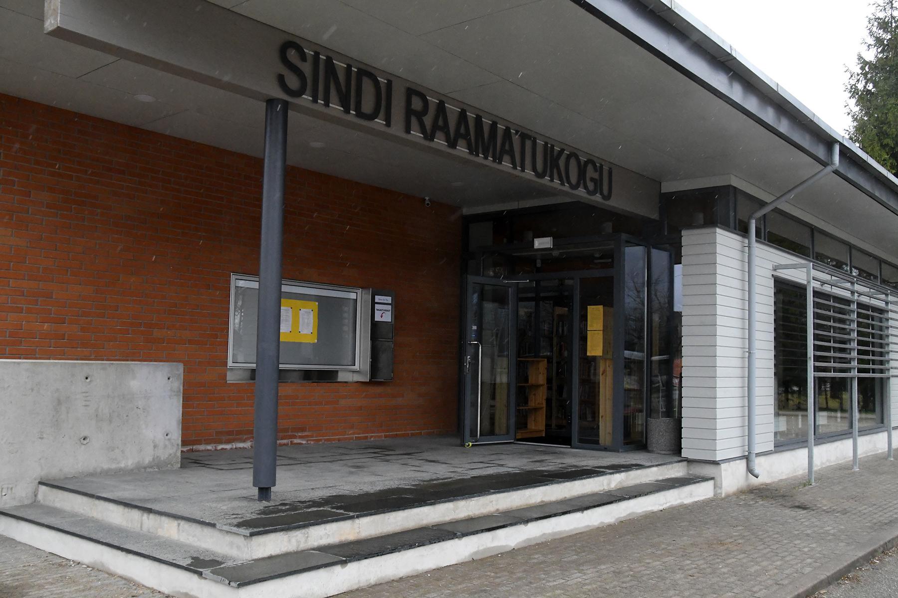 Sindi raamatukogu asub juba mõnda aega uues asukohas. Foto: Urmas Saard