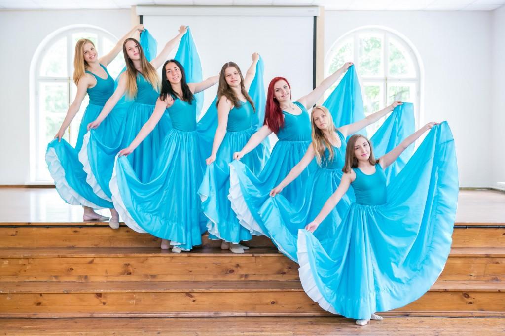 Sindi võimlemisrühm Stella hingelinnukleitides Foto Sigrid Absalon