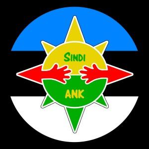 Spetsiaalselt lipu päevaks valminud Sindi ANK logo