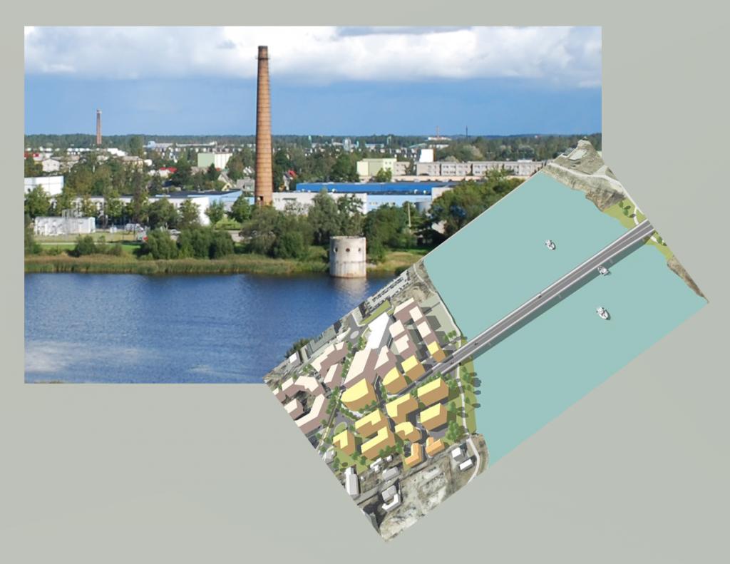 Suuremal pildil Pärnu linnas Pärnu jõge ületava tulevase kolmanda silla ligilähedane asukoht. Foto Urmas Saard Pealmisel pildil silla 3D-mudel möödunud aastast. Foto Pärnu linnavalitsus