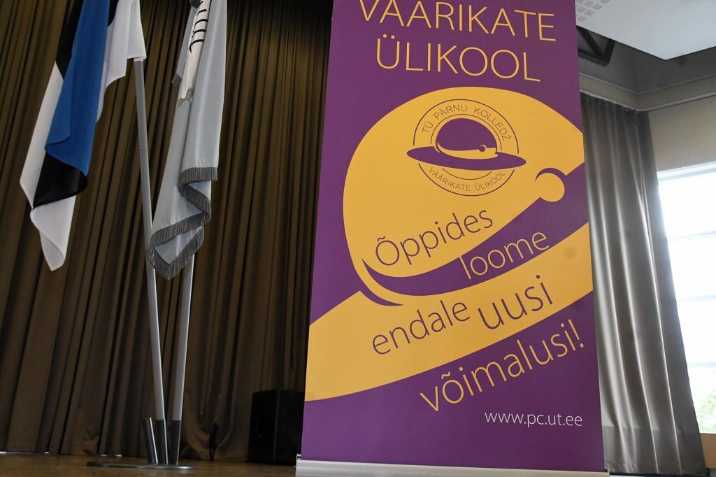TÜ Pärnu kolledži Väärikate ülikooli 11. õppeaasta avaaktusel. Foto: Urmas Saard