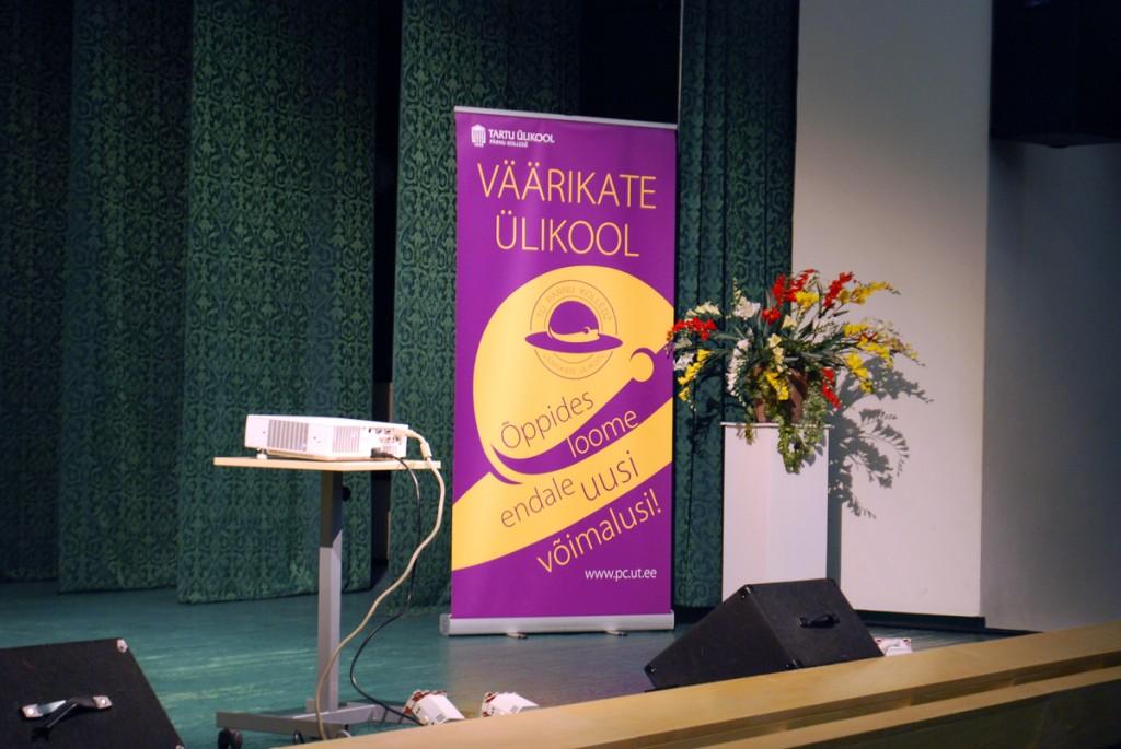 TÜ Pärnu kolledži väärikate ülikooli loengud toimuvad Pärnu Tervise konverentsisaalis Foto Urmas Saard