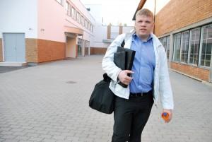 Tarmo Tõnismann on uue spordisündmuse ellukutsujana  Paikuse valla Karikavõistlused hästi ära teinud Foto Urmas Saard