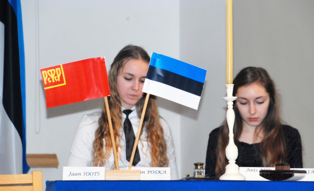 Tartu rahu konverents Sindi gümnaasiumis 2016 a Foto Urmas Saard