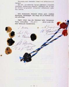 Tartu rahulepingu allkirjad
