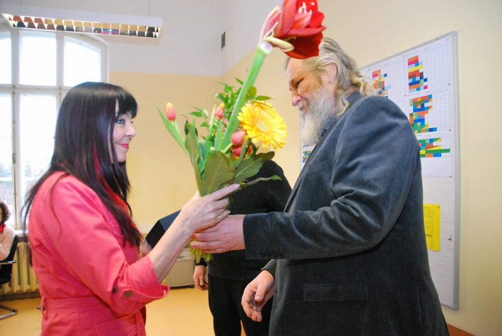 Tatjana Grigorjeva-Keerup ja Mart Tõnismäe Foto Urmas Saard