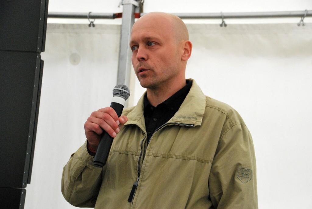 Tauno Jürgenstein, Keskkonnaagentuuri projektijuht Foto Urmas Saard