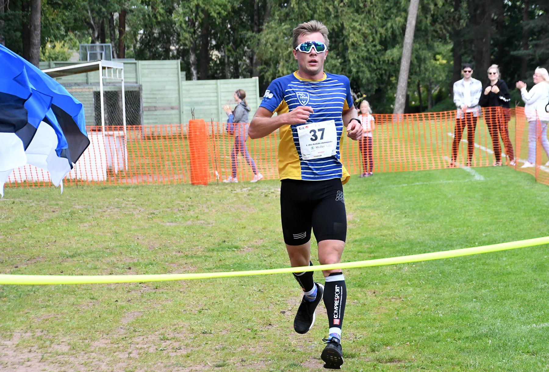 Timmo Jeret, Uhla-Rotiküla neljanda jooksu võitja. Foto Urmas Saard