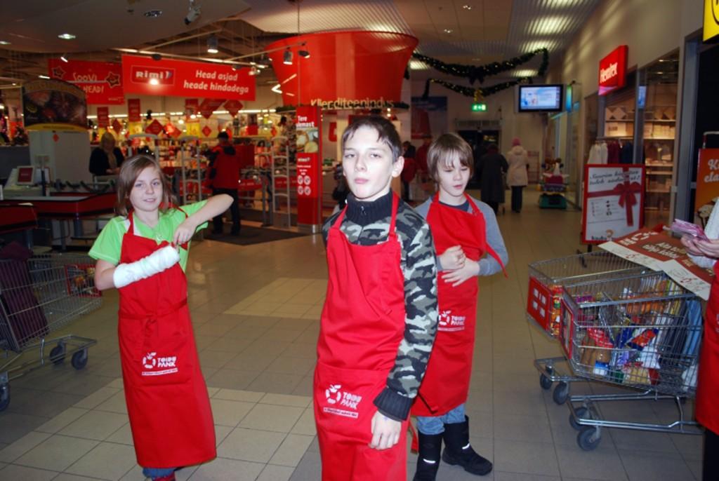 Toidupank Pärnu Rimis aastal 2010 Foto Urmas Saard
