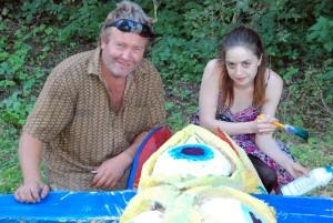 Toomas Altnurme ja tema abiline Mariliis Sorts Foto Urmas Saard