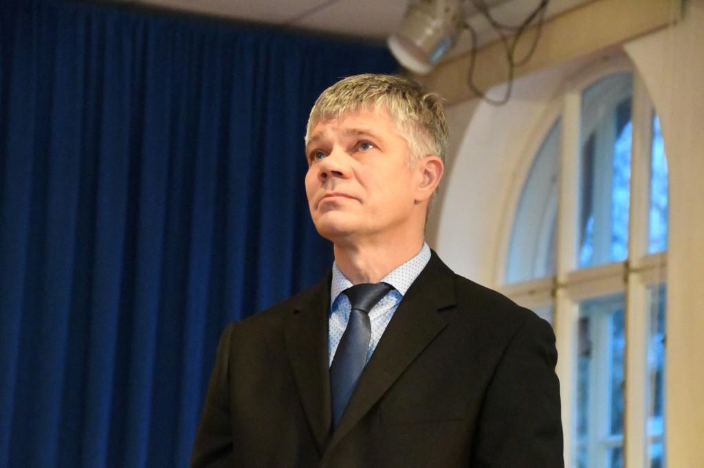 Toomas Kandima. Foto Urmas Saard