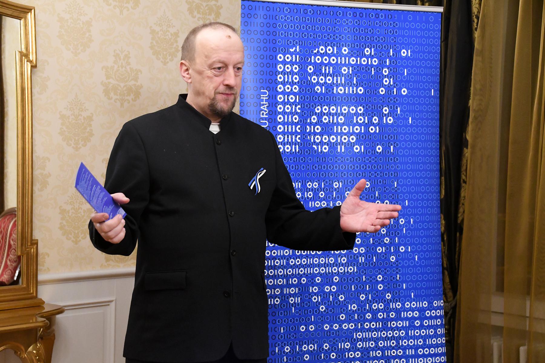 Toomas Kiho, Eesti Vabariik 100 juhtrühma esimees. Foto Urmas Saard