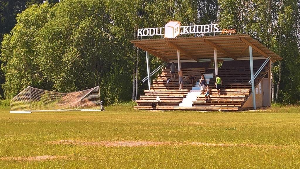 Tribüüni vävimine Foto Mikko Selg