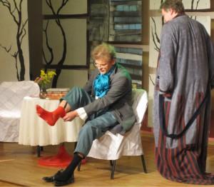 Võhma teatritrupp Rassijad mängib 18 augustil esimest vaatust Eduard Vilde Pisuhännast.