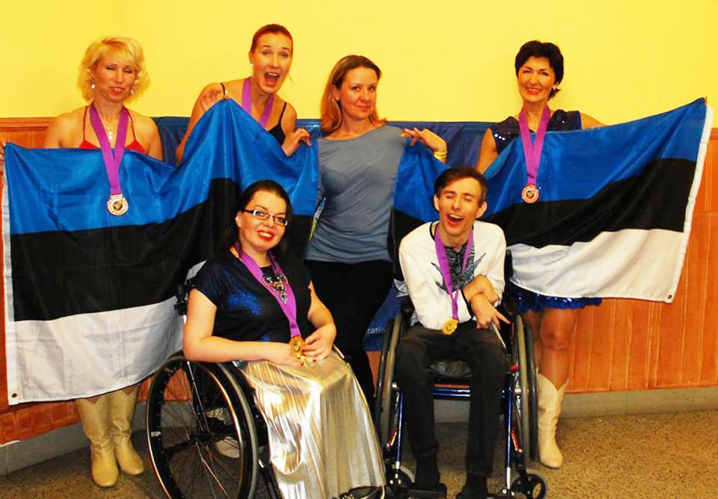 Võidukad eestlased Liberecis Foto pressisõnumiga