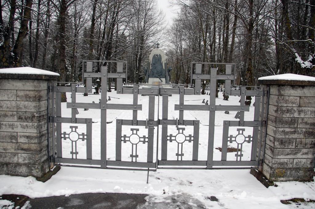 Vabadussõjas langenute monument Pärnu Alevi kalmistul Foto Urmas Saard