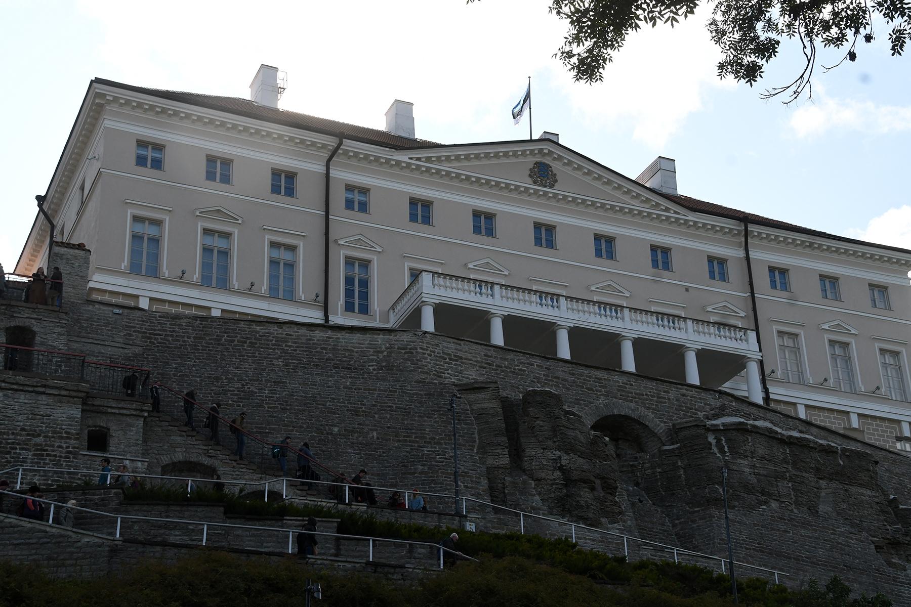 Vabariigi Valitsuse hoone, Stenbocki maja. Foto: Urmas Saard /  Külauudised