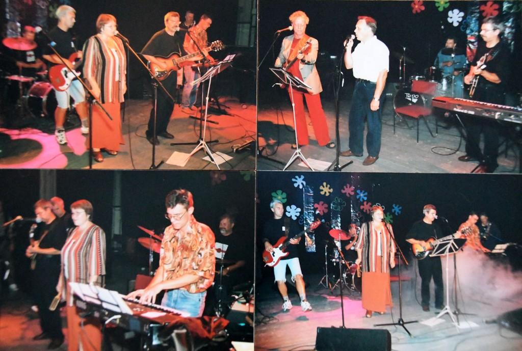 Valdur ja Ilme Prenge 1999. aastal Sindi Rockil. Fotod erakogust