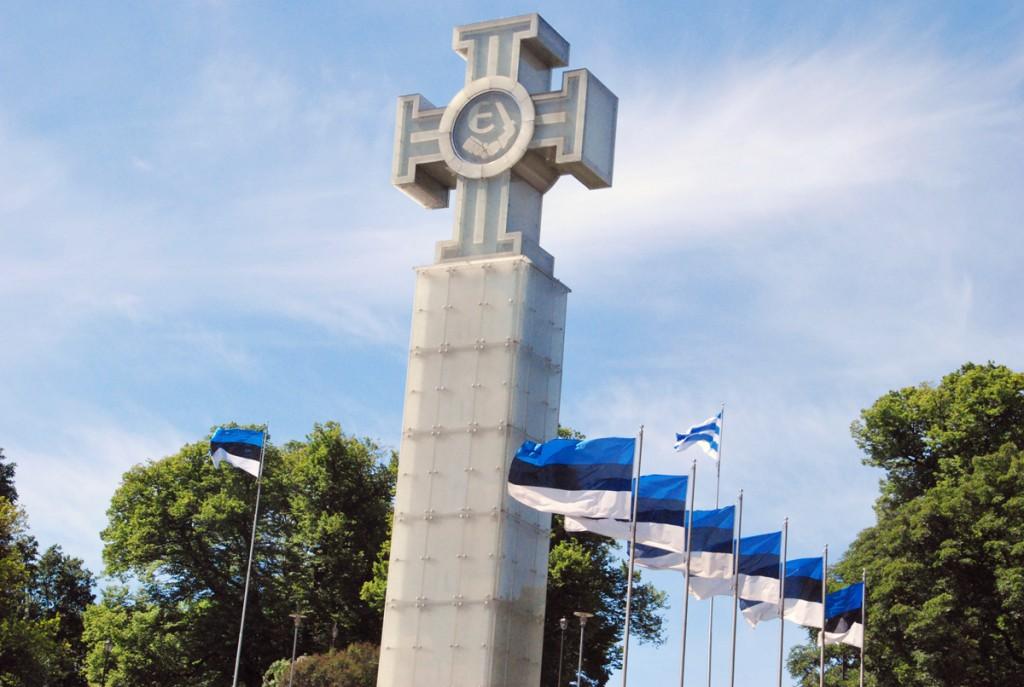Vastupanuvõitluse päeva tähistamine Tallinnas algab kell 9 mälestushetkega Vabadussõja võidusamba juures Foto Urmas Saard