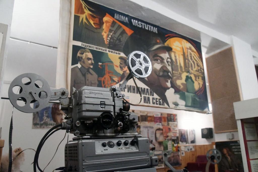 Vello Kolnese asutatud kinomuuseum Järva-Jaanis Foto Urmas Saard