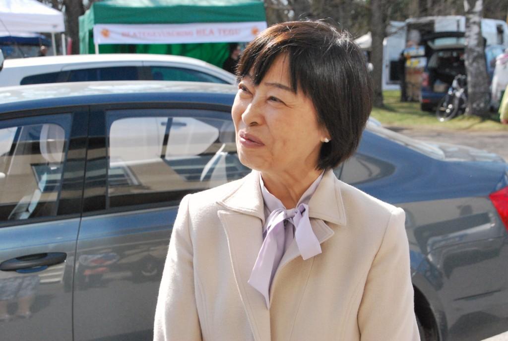 Yoko Yanagisawa, Jaapani suursaadik Foto Urmas Saard